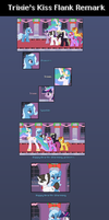 Christmas 2012: Trixie's Kiss Flank Remark by Blue-Cup