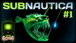 SUBNAUTICA - #1 - I HATE WATER! by GEEKsomniac