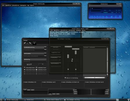 Vision Black - emerald theme by Pulicoti