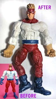 Piledriver Custom Figure (Comic Accurate Version) by mentos888