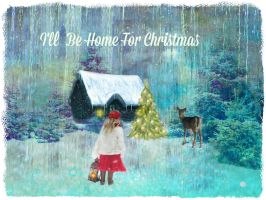 I'll Be Home For Christmas by artistic-touches