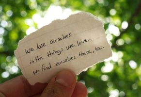We Lose Ourselves by hourglass-paperboats