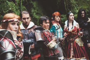 The Witcher, The Lodge and The Draconid / Cosplay by KADArt-Cosplay