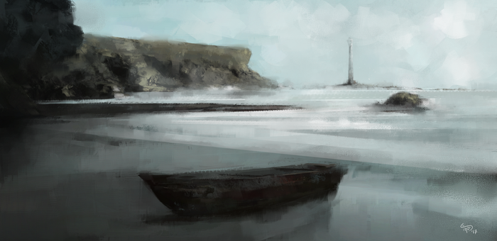 Seascape by LeftHandOfDoom