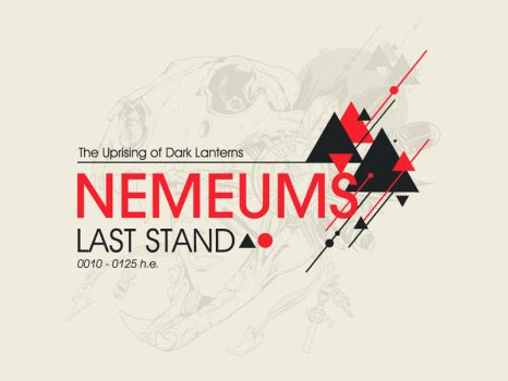 Nemeums Last Stand 'Title art' by jfe