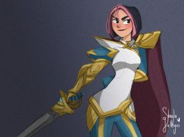Fiora - League of legends  by Hayashii-san