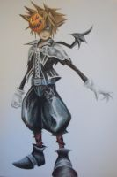 Redo: Sora in Halloween Town by Highway3