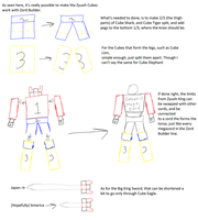 Zyuohger Zord Builder sketch out by SuperSentaiHedgehog