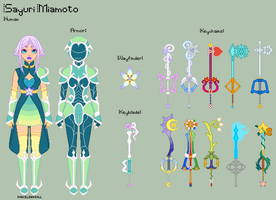 KH - Sayuri Reference Sheet by theRainbowOverlord