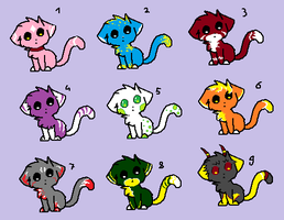 Name your price or trade! Adoptables - Batch #8 by LuckyInkz