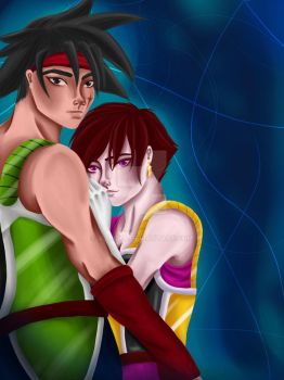 Request Fasha and Bardock by Allicya