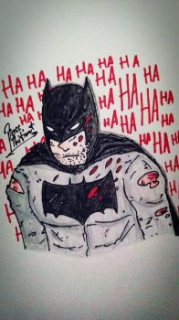 Batman : HA HA HA by BOSSTHITIWUT