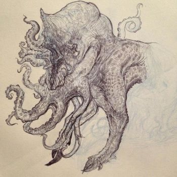 Creature Design 9 A Work In Progress by ATouchOfConcept