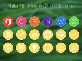 Button UI ~ Microsoft Office Apps by BlackVariant