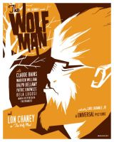 wolfman poster by strongstuff