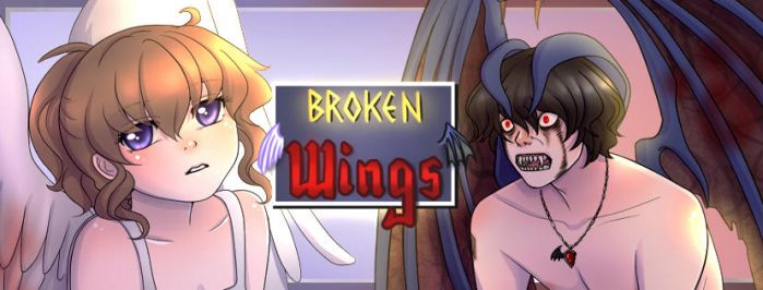 Broken Wings Cover Photo by ChibiStarChan