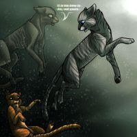Flametail's Death :REDONE: by timekept