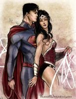 Love in the new 52 : colors by Mami02