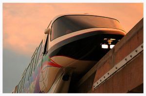Disney's Monorail by KellyManaghan