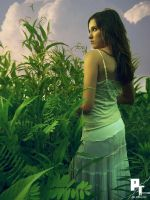 Standing deep in green by pt-photo-inc
