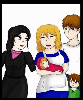 Getting the family together by Pajakgirl