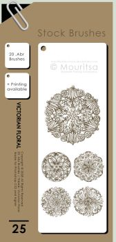Brush Pack - Victorian Floral by MouritsaDA-Stock