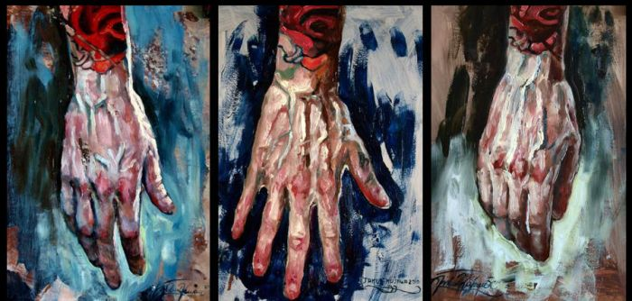 My hand study by nailone