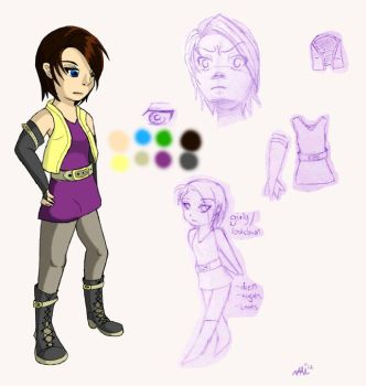AT: Myra Character Design by xHaimarux