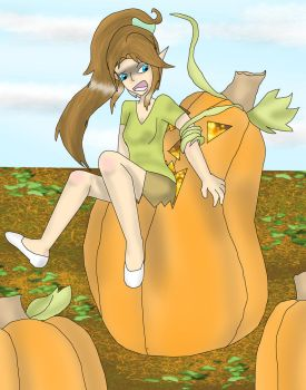 The Haunted Pumpkin by kingofthedededes73