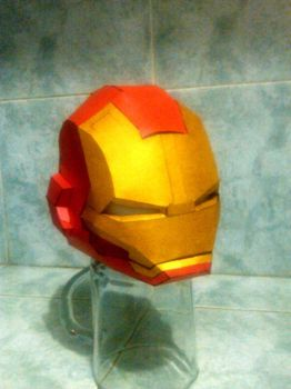 ironman sd papercaft wip by nandablank