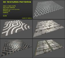 Free 3D Textures Pack 02 by Yughues