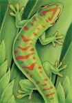 Endangered Ark: Day Gecko by synnabar