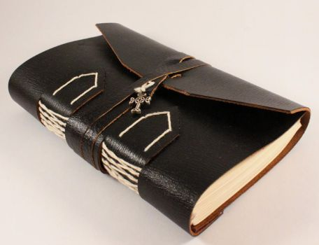 Black Book of Shadows with Celtic Cross by GatzBcn