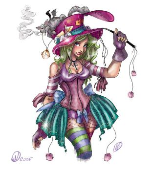 Mad Hatter by NoFlutter