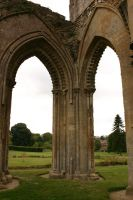 Glastonbury Abbey 11 by FoxStox