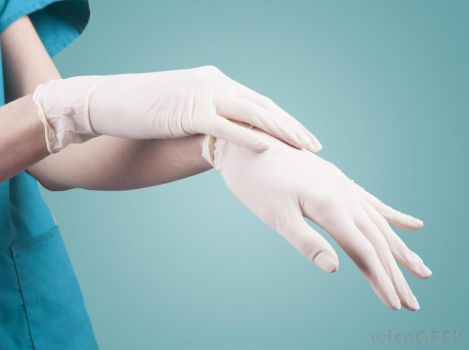 tight Latex gloves by 1982colin