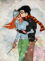 Harry and Ginny by BKLH362