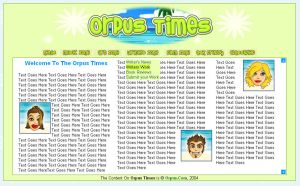 Redesign of Orpus Times by ACampion