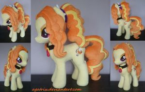 Adagio Dazzle Plush by agatrix