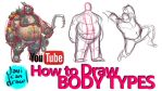 HOW TO DRAW BODY TYPES - A Process Tutorial by javicandraw
