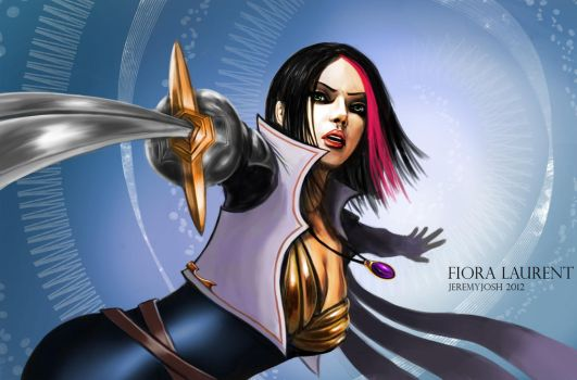 League of Legends: Fiora Laurent by jeremyjosh