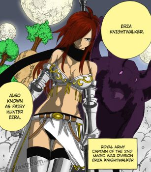 Fairy Hunter Erza Knightwalker by gotrei