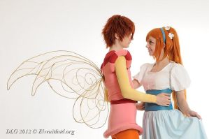 Cornelius and Thumbelina Cosplay by Feeracie