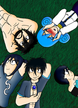 Fairy Tail (LSS/SPH): Fullbuster Family by LunarSpawnSerenata