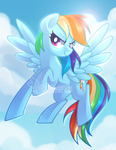 Rainbow Dash by Left2Fail