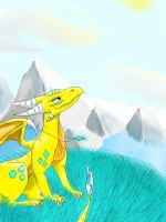 for yellow-cynder by Erneli