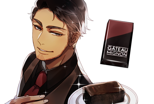 Mr. KitKat series: Gateau by Cioccolatodorima