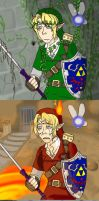 OOT NOT QUITE A COMIC by Vasheren