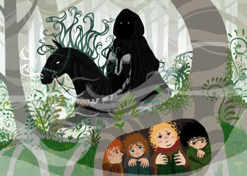 Lord of the rings by Kambrya