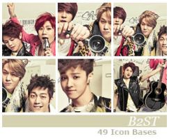 B2ST Icon Bases by euphoriclover